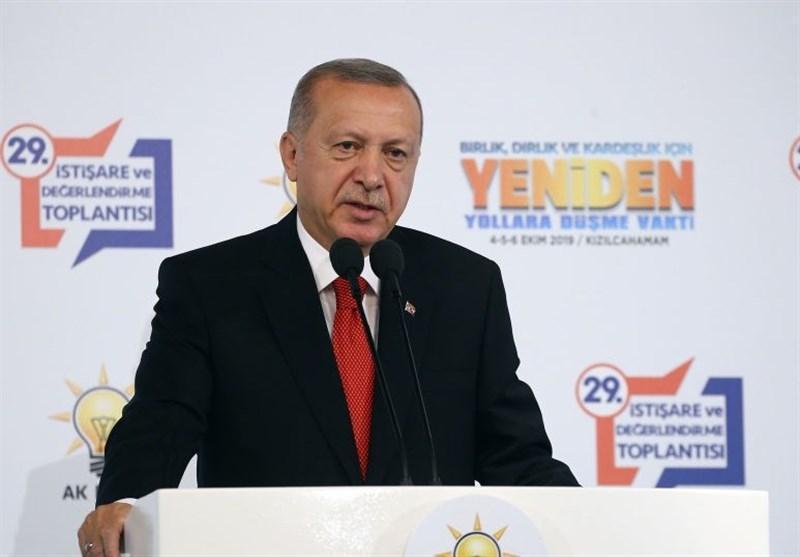 اردوغان: عملیات در شرق فرات را به زودی شروع می کنیم
