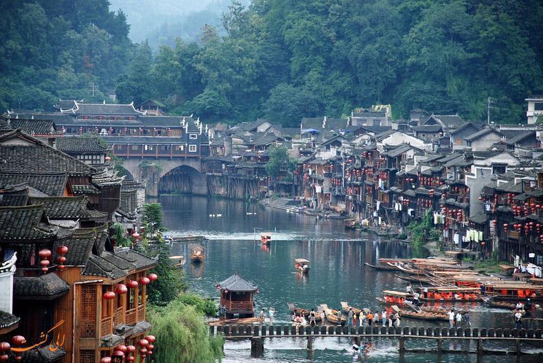 فنگ هوانگ، شهری که در زمان یخ زده است!