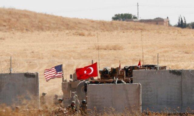 پنتاگون: نیروهای آمریکایی در معرض آتش توپخانه های ترکیه در سوریه قرار گرفتند