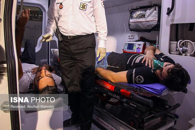 ارائه خدمات اورژانس پیش بیمارستانی به زائران در مرز چذابه
