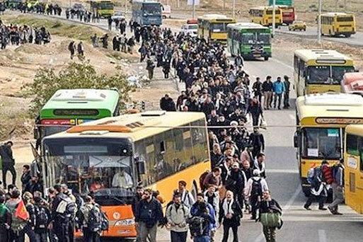 سفر 3 میلیون زائر ایرانی به عتبات عالیات از ابتدای محرم