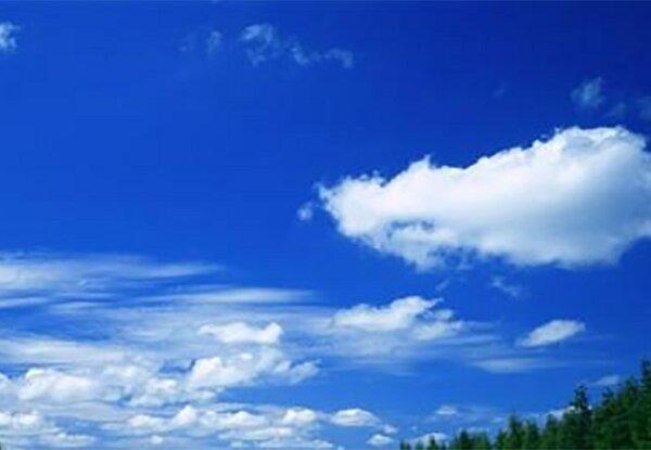استقرار جو آرام در آسمان گلستان