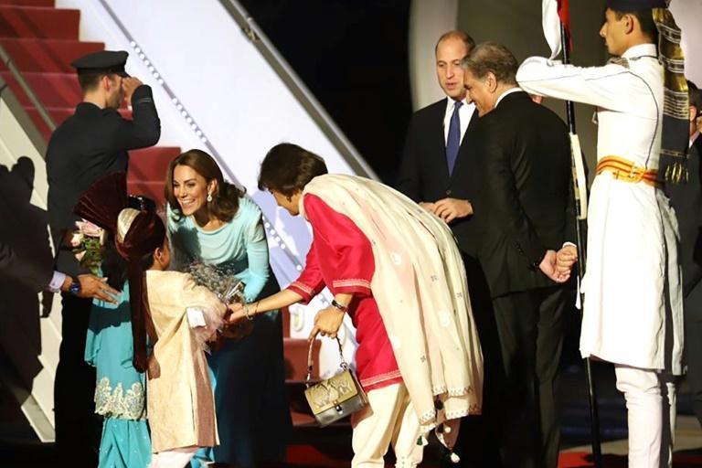 سفر عروس ملکه به پاکستان (