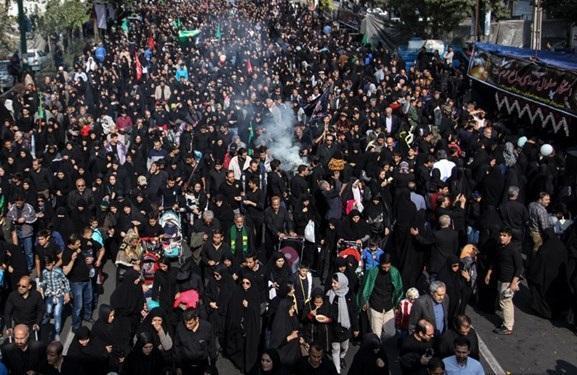 اعلام راستا های پنجگانه پیاده روی جاماندگان اربعین در تهران