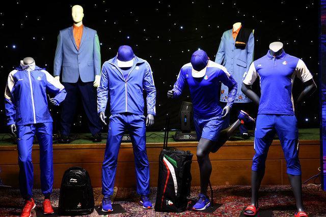 مقایسه لباس کاروان ایران در المپیک با چند کشور