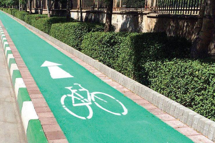 احداث اولین راستا اختصاصی دوچرخه سواری 14 کیلومتری شهر تهران