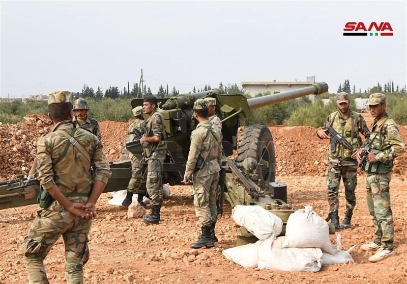 استقرار هزاران نیروی ارتش سوریه در شرق فرات