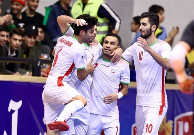 صعود تیم ملی فوتسال ایران به رده چهارم دنیا