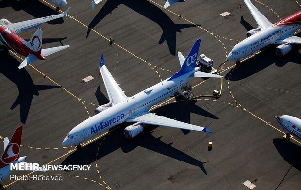 زمین گیر شدن 50 هواپیمای بوئینگ به دلیل وجود تَرَک در بدنه