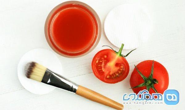 با این 4 ماسک گوجه فرنگی، پوستی شاداب داشته باشید