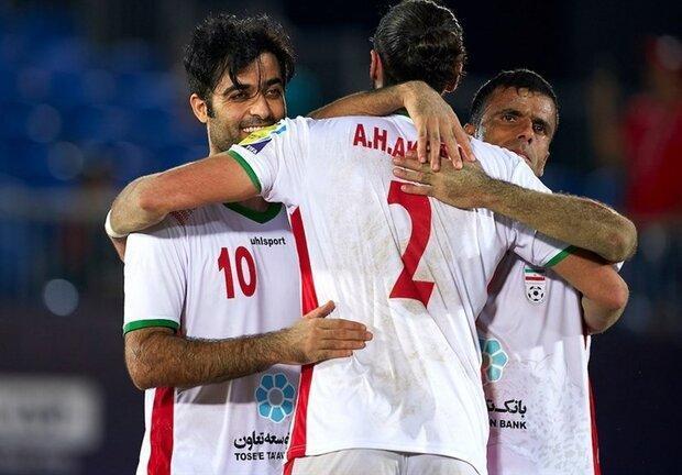 قهرمانی ایران در حاشیه خلیج فارس؛ اسپانیا هم مقابل ایران زانو زد