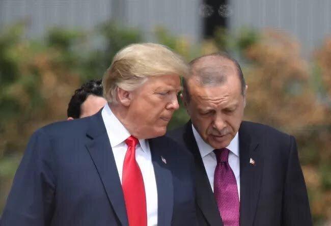 برنامه روز چهارشنبه ترامپ برای اردوغان