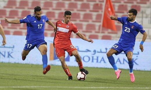لژیونر پرسپولیسی در تیم منتخب هفته دهم لیگ قطر