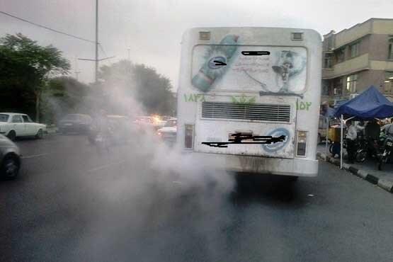 تردد اتوبوس های دودزا در پایتخت متوقف شد