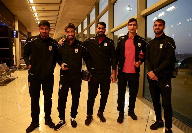 کاروان تیم ملی فوتبال ایران وارد اردن شد