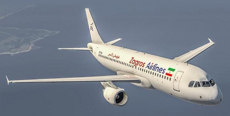 دریافت مجوز پرواز به ازبکستان توسط شرکت زاگرس