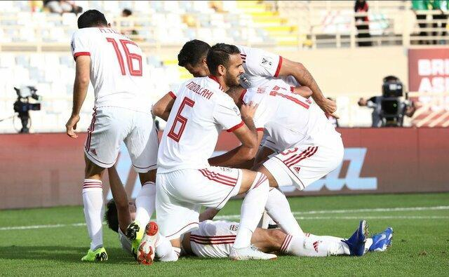 رکوردشکنی فوتبال ایران در جام ملت های آسیا