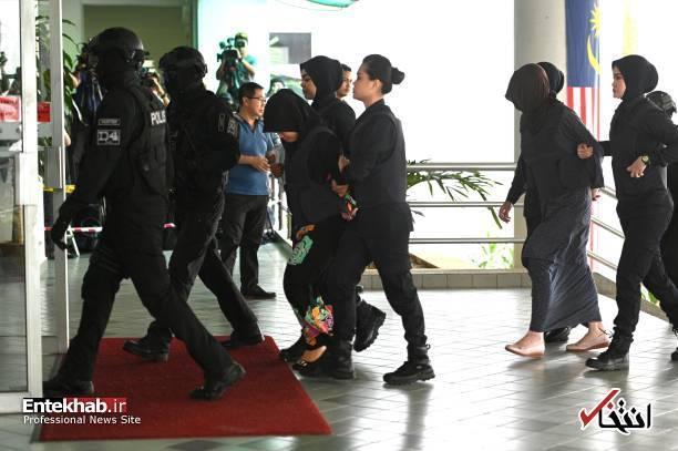 عکس، زن مظنون در قتل کیم جونگ نام آزاد شد