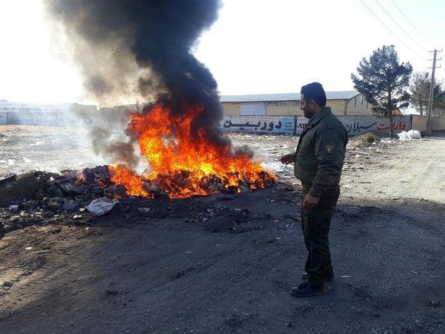 ضایعات سوزی جرم است، پایش آلایندگی 200 معدن و واحد صنعتی تهران