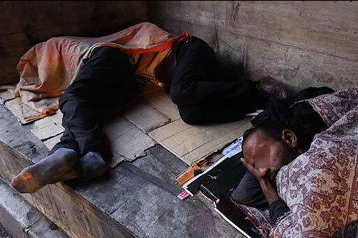 برای یاری به افراد بی خانمان با 137 تماس بگیرید