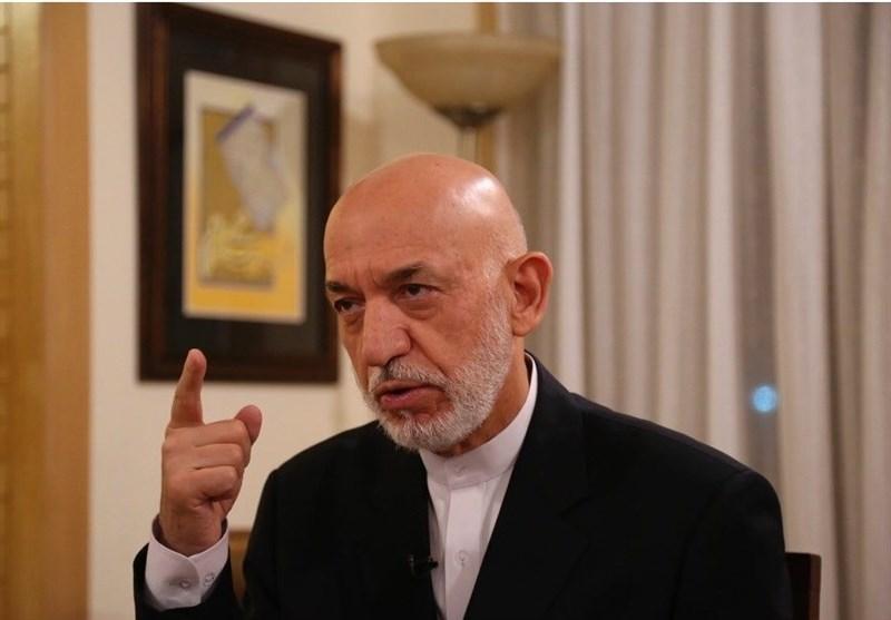 کرزی: نبود استقلال در افغانستان منجر به عدم اعلام نتایج انتخاباتی شد