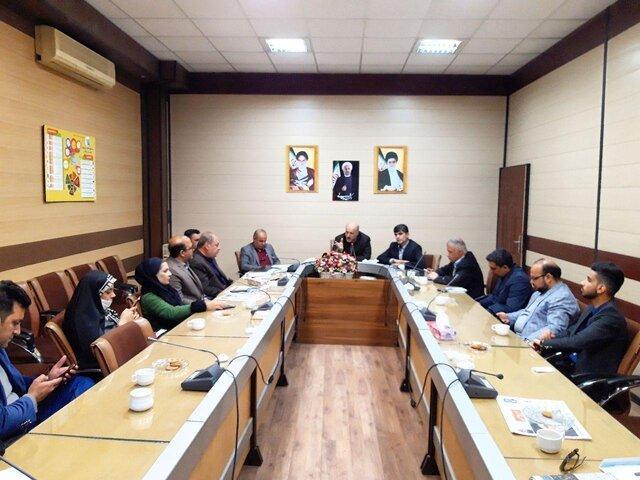 برگزاری نشست خبری ویژه انتخابات با اصحاب رسانه در فرمانداری ورامین