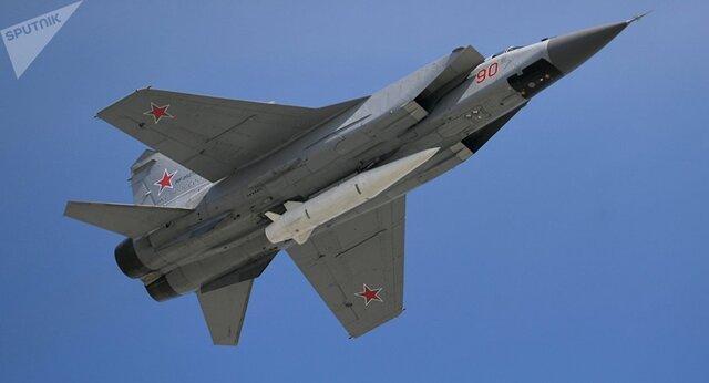 روسیه موشک فراصوت کینجال را آزمایش کرد