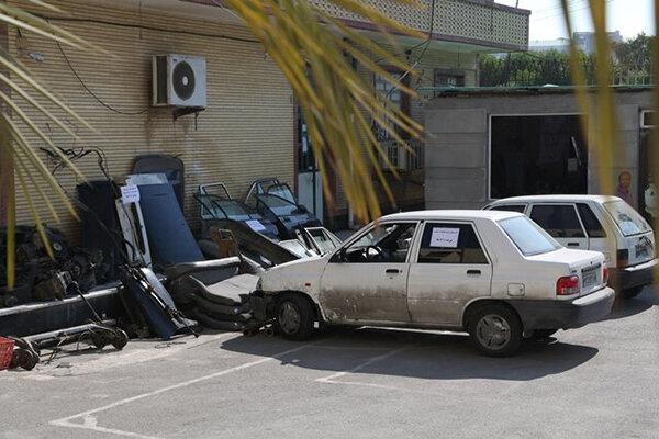 انهدام باند 8 نفره سارقان حرفه ای خودرو در هرمزگان
