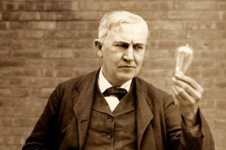 صد سال پیش توماس ادیسون به خوبی تفاوت یک مبتکر پیروز را با رویاپرداز توصیف کرده است