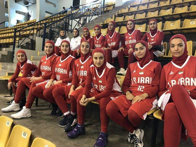 نخستین پیروزی دختران بسکتبالیست پس از غیبت 37 ساله
