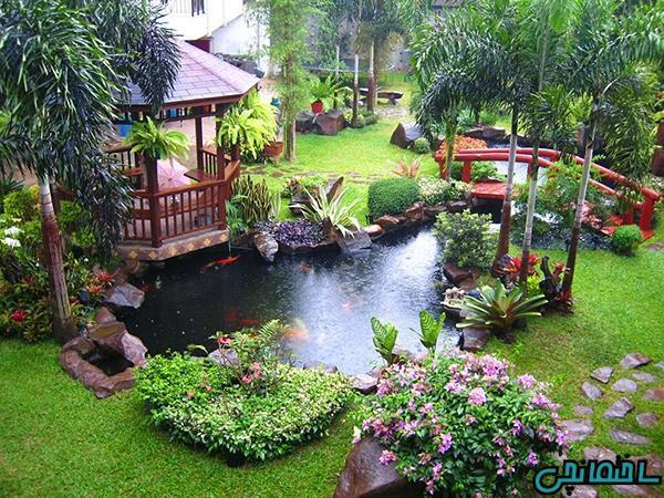 ایده های زیباسازی حیاط خلوت منزل