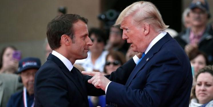 کاخ الیزه: ماکرون و ترامپ درباره ایران اختلافاتی دارند