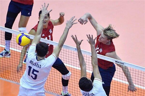 تیم ملی ایران برابر آمریکا شکست خورد، باخت عجیب در ست چهارم