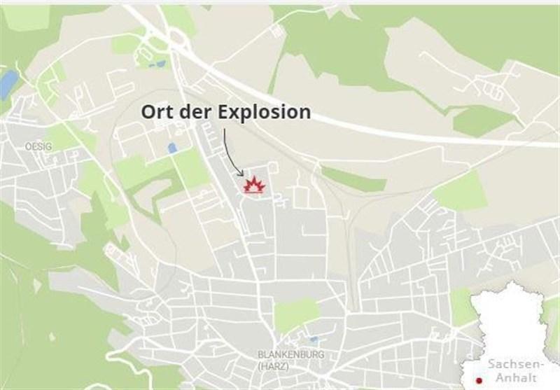 انفجار در شرق آلمان 25 زخمی به جا گذاشت