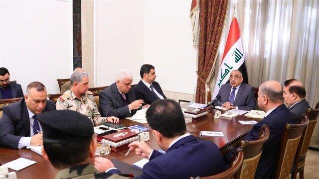 برگزاری جلسه شورای امنیت ملی عراق، تصمیم برای بازنگری در روابط با ائتلاف بین المللی