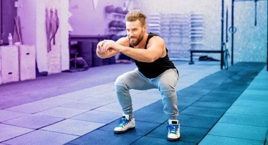 لاغری پایین تنه با چند حرکت تمرینی ساده