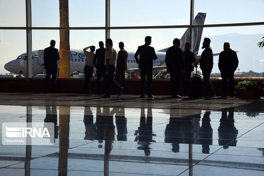 اطلاعیه فرودگاه امام خمینی در پی لغو بعضی پروازهای خارجی ، لغو تمامی پروازهای ایران به سوئد تا اطلاع ثانوی ، پرواز فرانکفورت و وین انجام شد