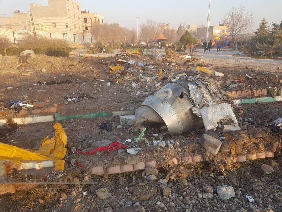 قربانیان خارجی هواپیمای اوکراینی چطور شناسایی می شوند؟