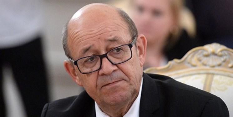 اتهام زنی وزیر خارجه فرانسه به برنامه هسته ای ایران