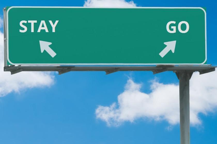 رفتن یا نرفتن، مساله این است