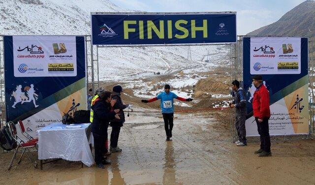برترین های مسابقات دوی کوهستان جام فجر در اراک معرفی شدند