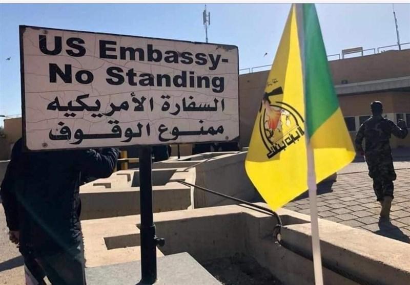 واکنش آمریکا به حمله موشکی سفارت این کشور در بغداد