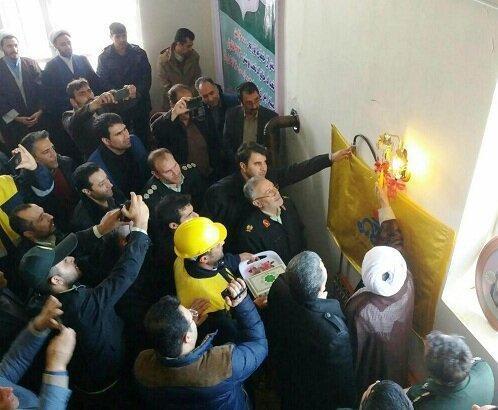 افتتاح طرح های عمرانی و خدماتی در منطقه ارسباران