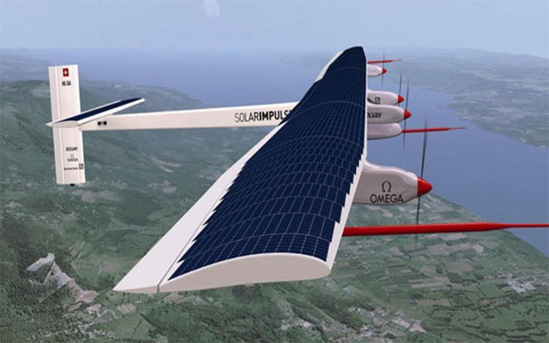 هواپیما خورشیدی که از طبیعت نیرو می گیرد