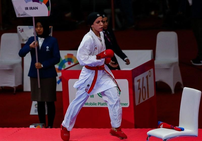کاراته وان امارات، خاکسار هم از دور مسابقات کنار رفت