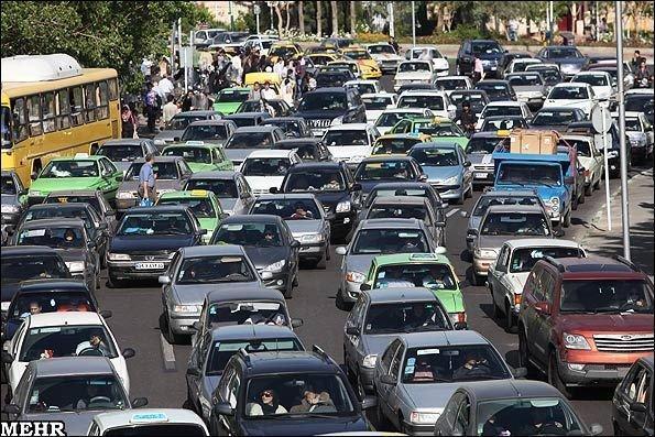 ترافیک سنگین در کرج - چالوس، اعلام محدودیت تردد در آخر هفته