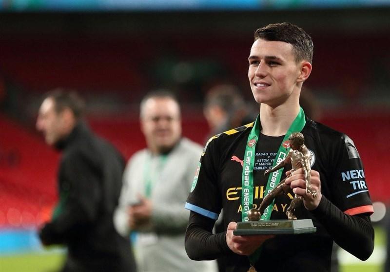 فودن بهترین بازیکن فینال جام اتحادیه انگلیس شد