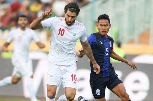 دلیل احتمال لغو بازی کامبوج-ایران از زبان رسانه کامبوجی