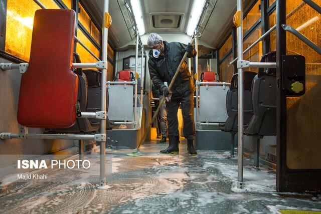 فعالیت اتوبوس های درون شهری کرج متوقف می گردد