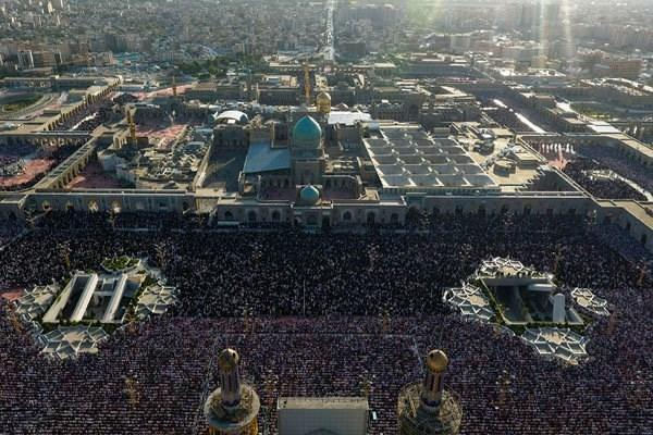 تاریخچه صحن جامع رضوی، لذت خواندن نماز در کنار هفتاد هزار زائر امام رضا (ع)